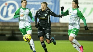 Filippa Angeldahl har lämnat Linköpings FC och spelar numera i Kopparbergs/Göteborg.